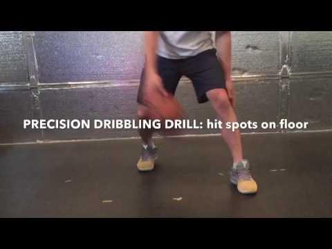 PRECISION DRIBBLING drill