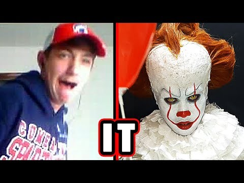 Pennywise Scare Prank : IT 2017 (Omegle)