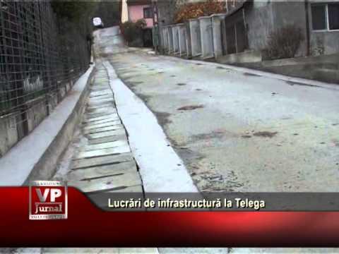 Lucrări de infrastructură la Telega