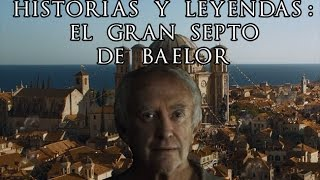 """Game of Thrones contenido extra de la edición Blu-ray sexta Temporada - Narrado por el Gorrión Supremo (Jonathan Pryce)El Gorrión Supremo nos cuenta sobre el Gran Septo de Baelor, el septo más sagrado de la Fe de los Siete. Fue construido por el rey Baelor I, quien aparte de ser Rey, tambien era septón.Suscribanse a nuestro canal de Youtube:➤https://www.youtube.com/channel/UCJYkzUkSMbApqHmnC7pBWMA?sub_confirmation=1Entérate más noticias, videos y fotos sobre la serie Juego de Tronos➤http://www.tronodehierro.com/Nuestra página de facebook➤https://www.facebook.com/tronodehierro1Video contiene propiedades de Home Box Entertainment (HBO)Copyright Disclaimer Under Section 107 of the Copyright Act 1976, allowance is made for """"fair use"""" for purposes such as criticism, comment, news reporting, teaching, scholarship, and research. Fair use is a use permitted by copyright statute that might otherwise be infringing. Non-profit, educational or personal use tips the balance in favor of fair use."""