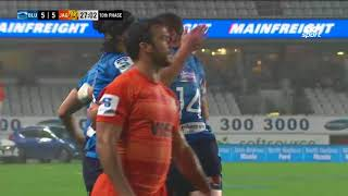 Blues v Jaguares Rd.11 2018 Super rugby video highlights