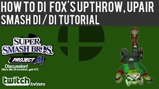 How to DI Fox's Up Throw Up Air – Smash DI/DI Tutorial