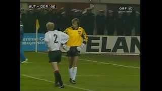 Österreich – DDR 3:0 (15.11.1989)
