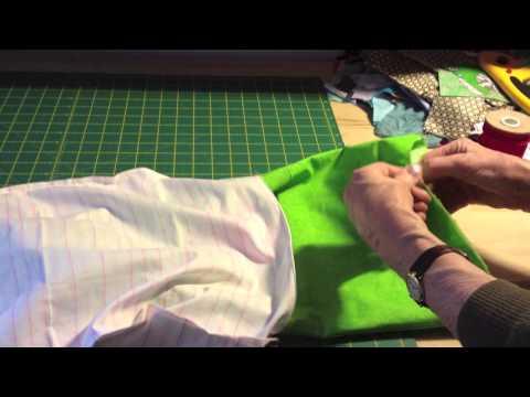 tutorial: come cucire una sacca con i laccetti - creare drawstring bag