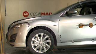 Crash test delantero Mazda 6 en CESVIMAP