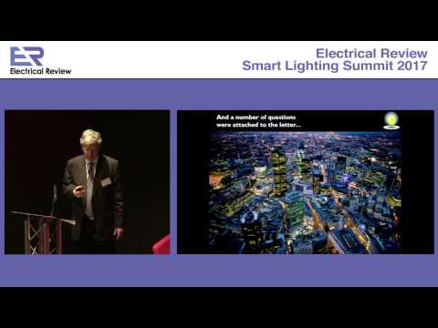 Smart Lighting Summit 2017: John Aston, Society of Light and Lighting