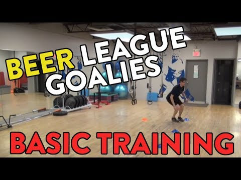 Beer League Goalie Training: Basic Training