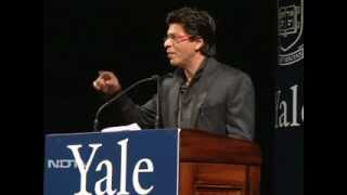 Shah Rukh Khan at Yale