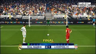 Video PES 2018 | Real Madrid vs Liverpool | Final UEFA Champions League (UCL) | Penalty Shootout MP3, 3GP, MP4, WEBM, AVI, FLV September 2018