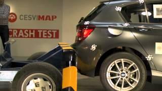 Crash-Test BMW Serie 1 trasero en Cesvimap