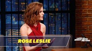 Rose Leslie Won't Let Kit Harington Read Game of Thrones Scripts Near Her