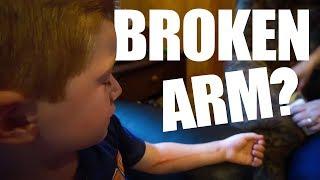 Video Did He BREAK His ARM??? MP3, 3GP, MP4, WEBM, AVI, FLV Januari 2018