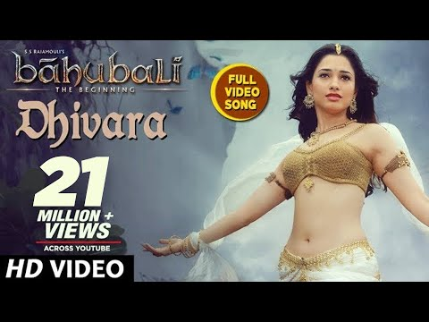 Video Baahubali Songs | Dhivara Full Video Song | Prabhas, Anushka Shetty,Rana,Tamannaah | M M Keeravani download in MP3, 3GP, MP4, WEBM, AVI, FLV January 2017