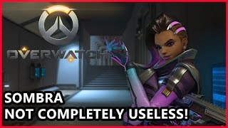 Overwatch Sombra Gameplay - Not Completely Useless Somehow - Overwatch Gameplay, Blizzard Entertainment, World of Warcraft