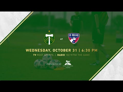 Video: Timbers prepare to on FC Dallas in the Audi 2018 MLS Cup Playoffs Knockout Round