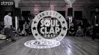 Greenteck vs C-Rowpop – Can I Get A Soul Clap 2017 Popping Semi Final (Another angle)