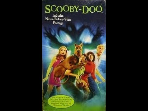 Opening To Scooby Doo(Live-Action)2002 VHS