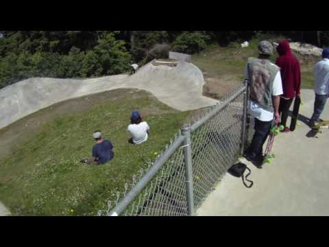 Lincoln City Skatepark Skateboard Track