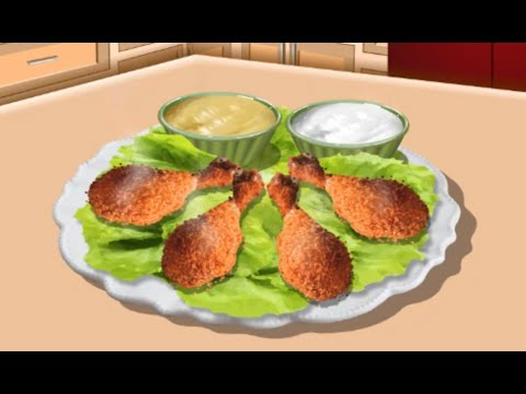 Baked Chicken - SARA'S COOKING CLASS - Children Games Video - Yourchannelkids