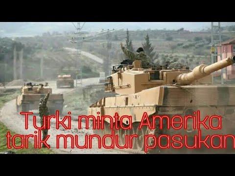 Erdogan, jika Amerika tidak menarik pasukannya, maka jangan salahkan bila terjadi !!