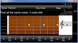 Guitar Note Trainer YouTube video