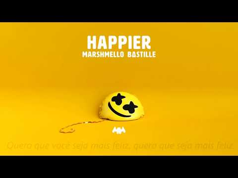 Marshmello ft. Bastille - Happier (Legendado PT/BR)