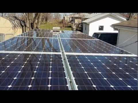 3kw solar powered Off-grid RV
