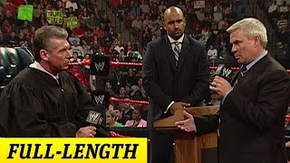 Video FULL-LENGTH MOMENT - Raw - The Trial of Eric Bischoff MP3, 3GP, MP4, WEBM, AVI, FLV Oktober 2018