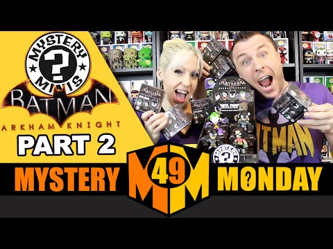 BATMAN Arkham Series : Funko Mystery Minis (Full Case Unboxing) Part 2