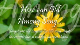 Old Hmong Song