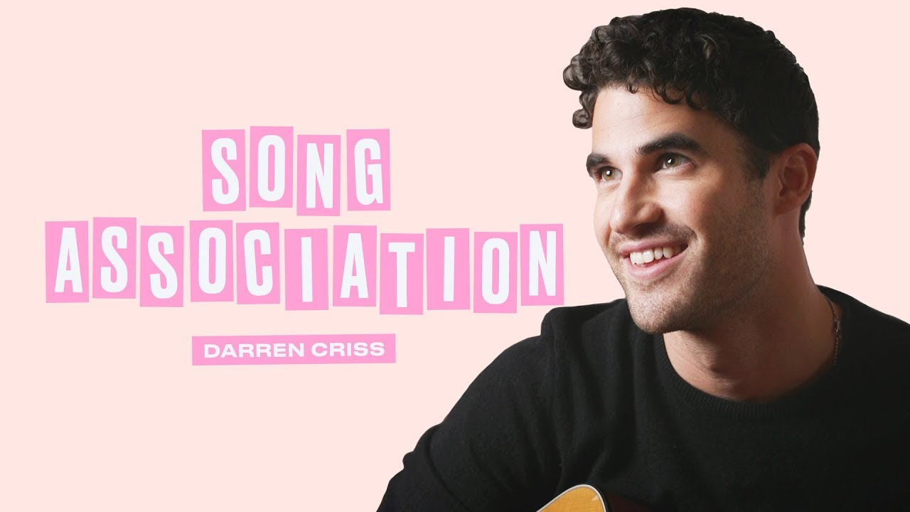 Darren Criss Sings The Killers, Whitney Houston, and Fall Out Boy | Song Association | ELLE