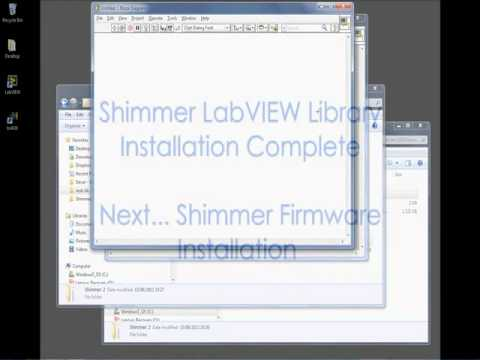 Downloading and Installing the Shimmer LabVIEW Library