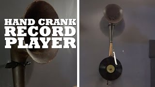 The guys build a hand crank, semi-functional record player.   What projects should we make next? Let us know in the comments!  All Brojects, all the time: http://www.cottagelife.com/brojects   Subscribe to Cottage Life on YouTube: http://bit.ly/19UCmwF DIY projects, design tips, recipes and more: http://www.cottagelife.com Twitter: http://www.twitter.com/cottagelife Facebook: http://www.facebook.com/cottagelife Pinterest: http://pinterest.com/cottagelife/  Subscribe to Cottage Life Food: https://www.youtube.com/cottagelifefood  Subscribe to Cottage Life Style: https://www.youtube.com/cottagelifestyle