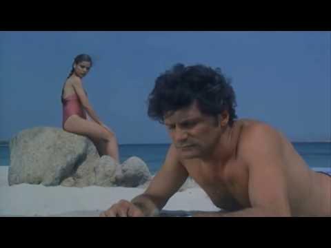 Ornella Muti Beach Red Bikini