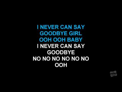 Never Can Say Goodbye in the style of The Jackson 5 karaoke with karaoke video lyrics
