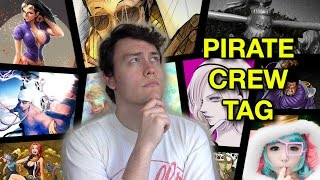 ONE PIECE PIRATE CREW TAG! My Devil Fruit Power, Dream Crew Members & More!