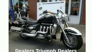 1. 2010 Triumph Rocket III Touring Specs and Features