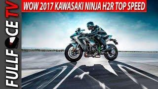 10. 2017 Kawasaki Ninja H2R Supercharged Review and Specs