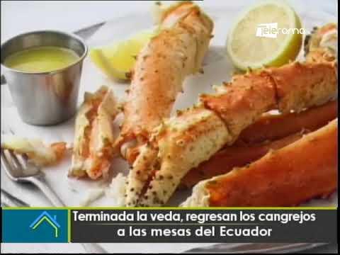 Terminada la veda, regresan los cangrejos a las mesas del Ecuador