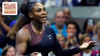 Video Was Serena Williams Wrong For Outburst During U.S. Open Final Against  Naomi Osaka? MP3, 3GP, MP4, WEBM, AVI, FLV September 2018