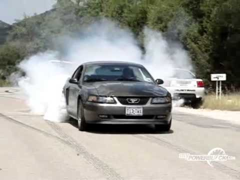 myPowerBlock: Ford Mustang GT Burnout