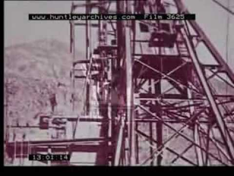 Mexico in the 1950's including Manufacturing plant for cars – Film 3625