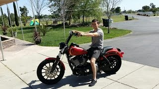 8. Custom Harley Davidson Dyna fxdl Build