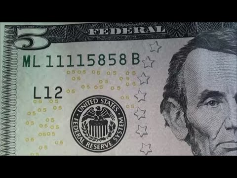 AMAZING $5 BILL FOUND collecting united states currency