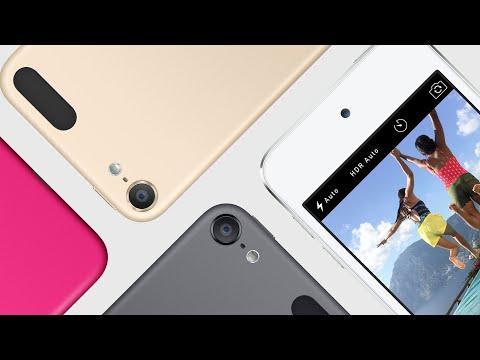 Новые iPod touch 6G, Nano и Shuffle