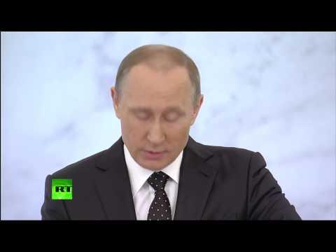 Послание Владимира Путина Федеральному собранию (видео)