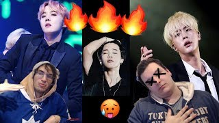 Video STRAIGHT GUYS REACT TO BTS HOTTEST MOMENTS! MP3, 3GP, MP4, WEBM, AVI, FLV Maret 2019