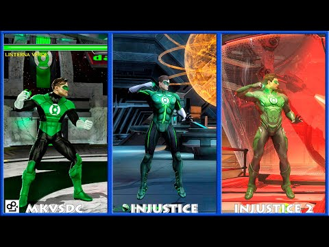 Dc Universe Mkvsdc Injustice Green Lantern Graphic Evolution 2008-2017 | Xbox360 Ps4 |