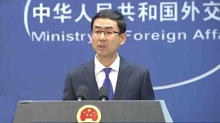 China to work with BRICS countries on South China Sea stability