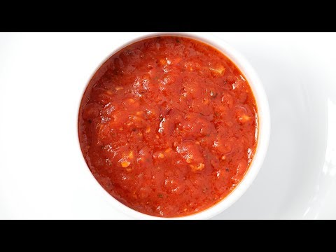 Homemade Spicy Marinara Sauce Recipe With San Marzano Tomatoes